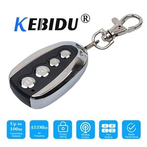 Image 1 - Kebidu חדש 433Mhz עבור רכב מתגלגל קוד מרחוק מעתק שלט דלת מוסך פותחן חשמלי עבור בית