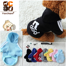 Dogs Clothes Pets Winter Hoodie Outfit Adidog Clothing Fashion Autumn Pet Products Dog Coats