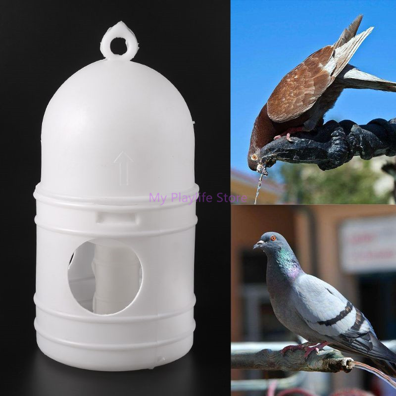 Pigeons Water Feeder Plastic Drinking Bottle Pot Pet Drinker Dispenser Container Pigeons Birds Feeding Supplies C42