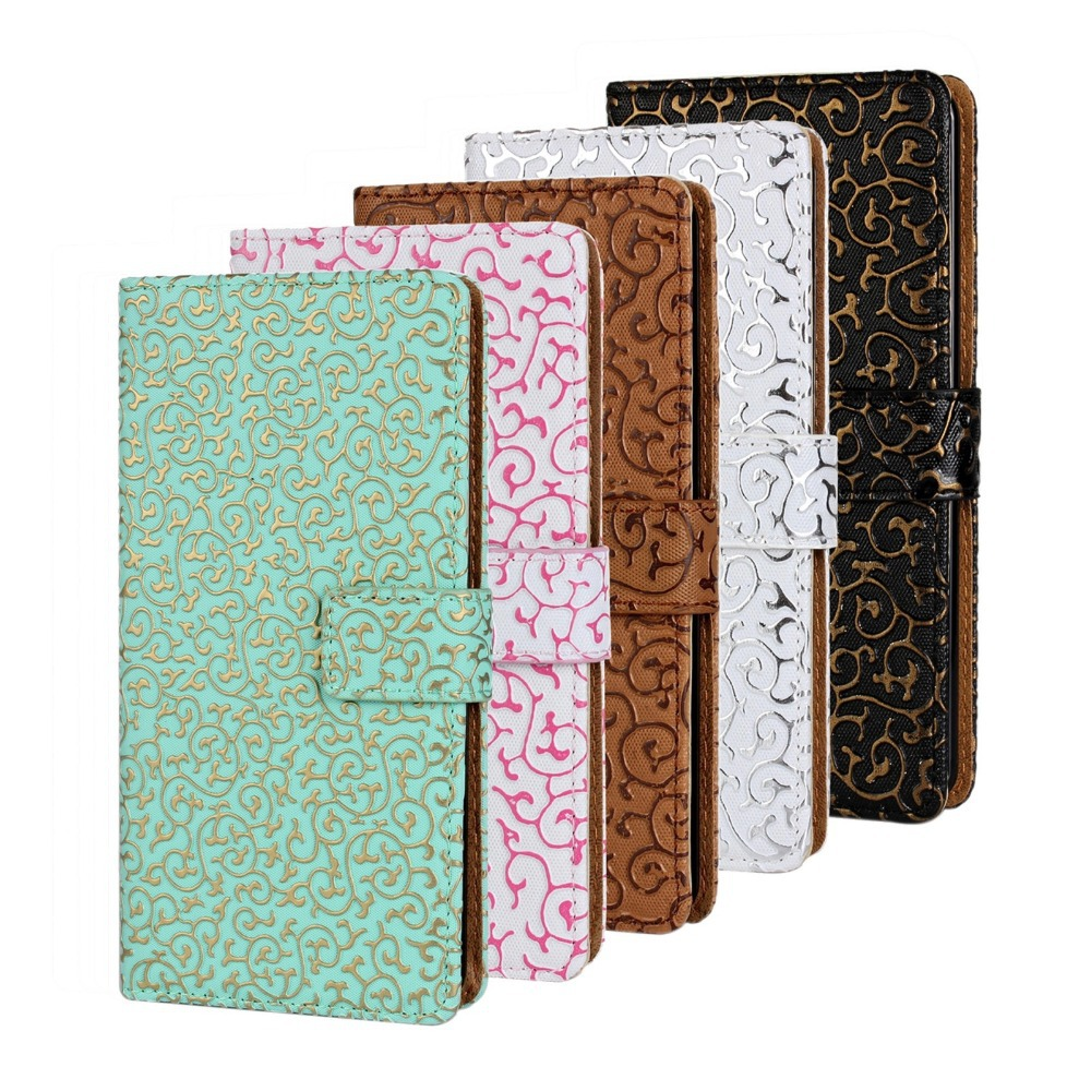 iphone 5 leather case luxury for apple iphone 5 5s flip cases i5 leather 14536