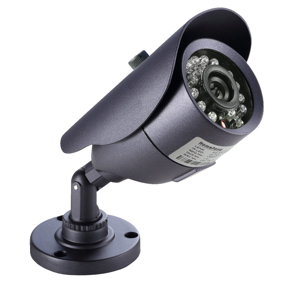 bilder für Homefong 1/3 zoll cmos 1200tvl 960 h cctv-kamera home überwachung wasserdichte 3,6mm objektiv mit ir cut bullet sicherheit kamera