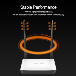 Image 5 - Tenda N300 Draadloze Router, 2 * 5dbi 300 Mbps Wifi Repeater, ondersteuning WISP/Universal Repeater/AP Modus/Draadloze schakelaar, Gemakkelijk Setup