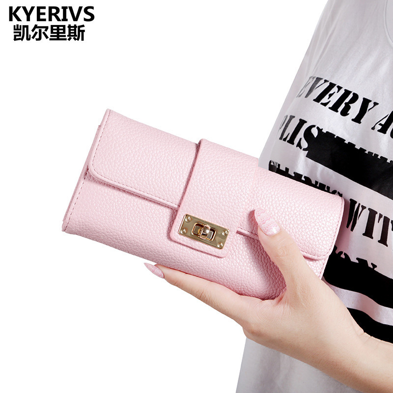 Fashion PU Leather Wallet Women 2017 Credit Card Holder Coin Purse Wallet Female Clutch Purse Zipper Womens Wallets and Purses women leather wallets v letter design long clutches coin purse card holder female fashion clutch wallet bolsos mujer brand