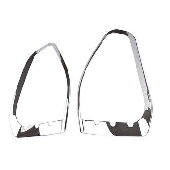 Krom ABS Plastik Ford Escape Kuga 2013-2016 2 Adet/kiti Dayanıklı aydınlatma koruması Trim Pratik Yüksek kaliteli yeni