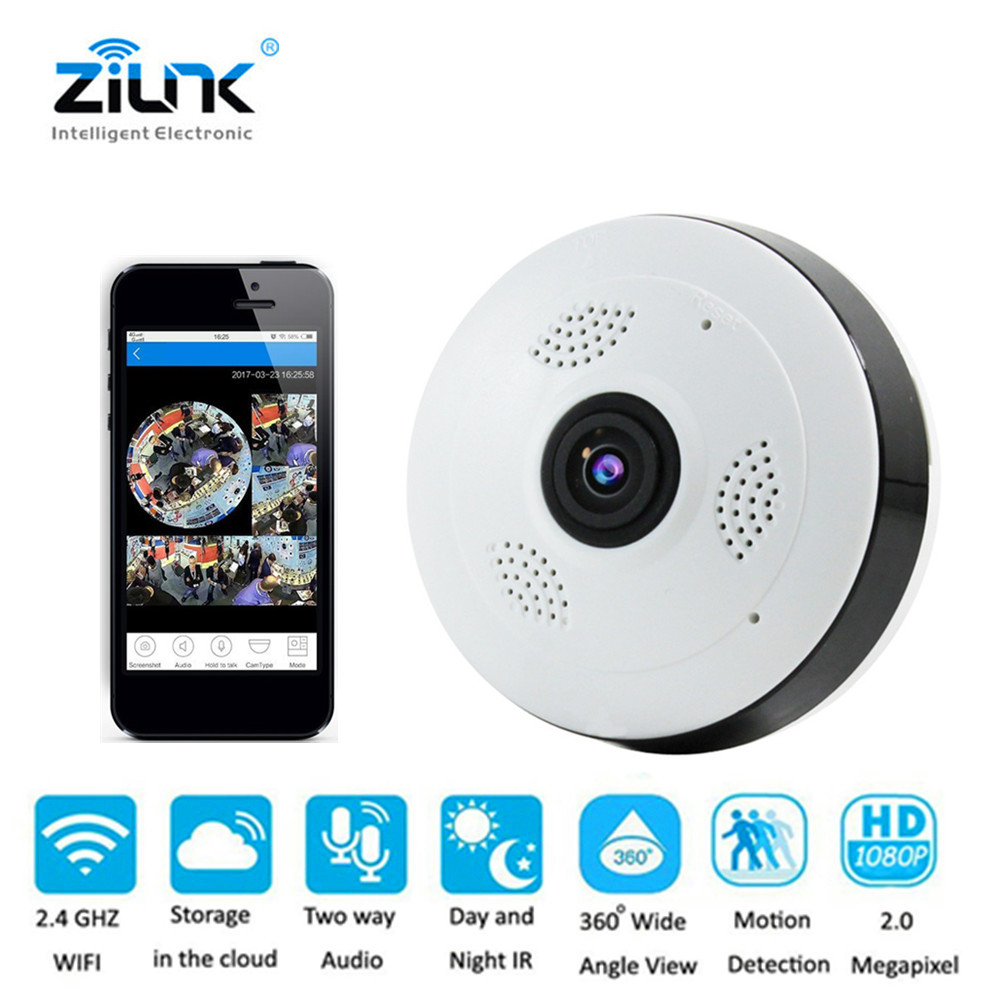 Cobell Fisheye IP Camera 960P 360 Degree Full View Smart Security Wifi Camera Two Way Audio