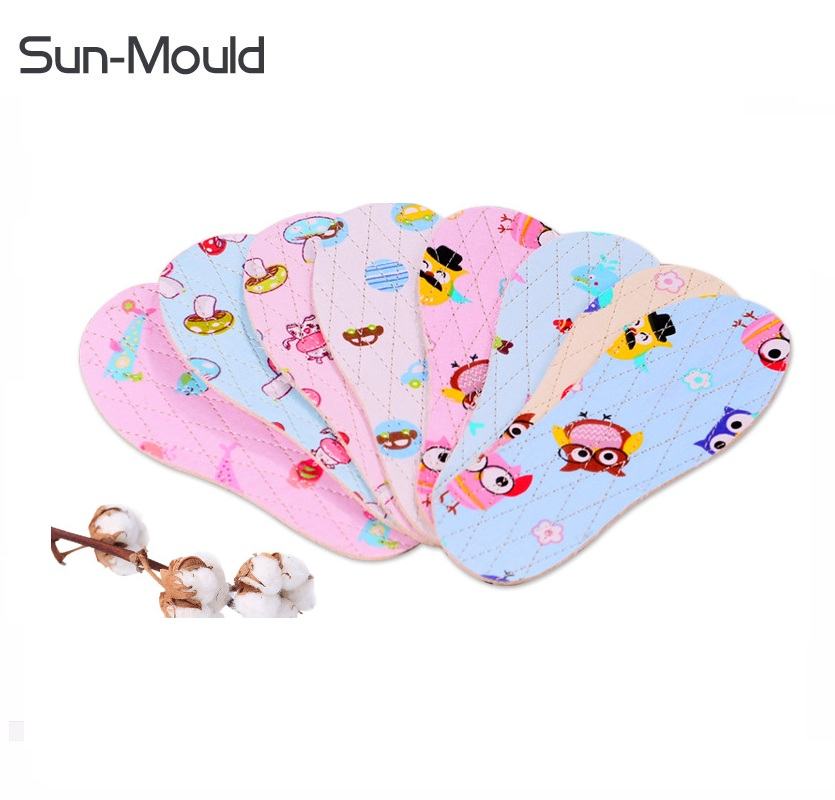 100% cotton baby kids shoes insole handmade cartoon child shoes breathable safety insoles foot care 200pairs  DHL free shipping expfoot orthotic arch support shoe pad orthopedic insoles pu insoles for shoes breathable foot pads massage sport insole 045