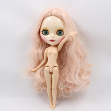 Factory Neo Blythe Doll Pale Pink Hair Jointed Body 30cm