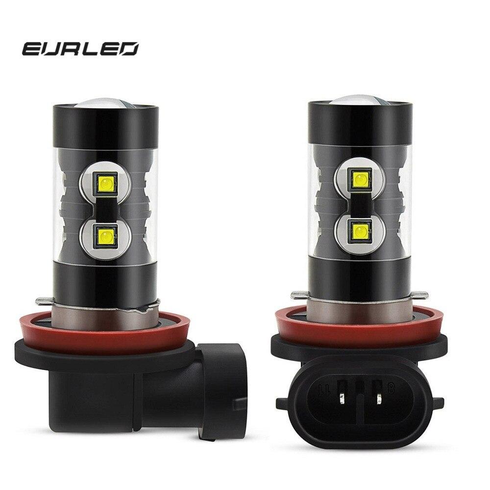 HB4 9006 COB LED Headlight Bulbs Kit Canbus 100W For BMW E36 Compact 316 318