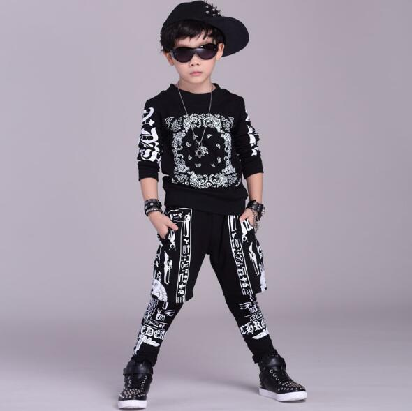Children Clothing Set 2017 Boys Girls Sports Suit Long Sleeve Top & Pants Set Kids Hip Hop Clothing Tracksuits 2Pcs 2017 new boys clothing set camouflage 3 9t boy sports suits kids clothes suit cotton boys tracksuit teenage costume long sleeve