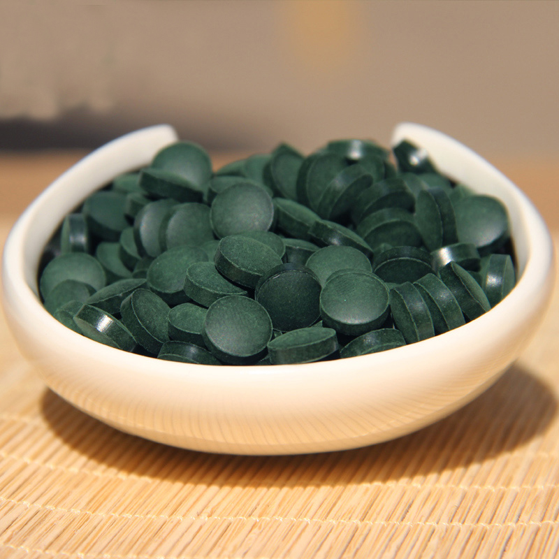 Green Food Health 1000 Pills Quality Approved Anti-fatigue Anti-radiation Enhance-immune 250g Green Natural Spirulina Health Tea