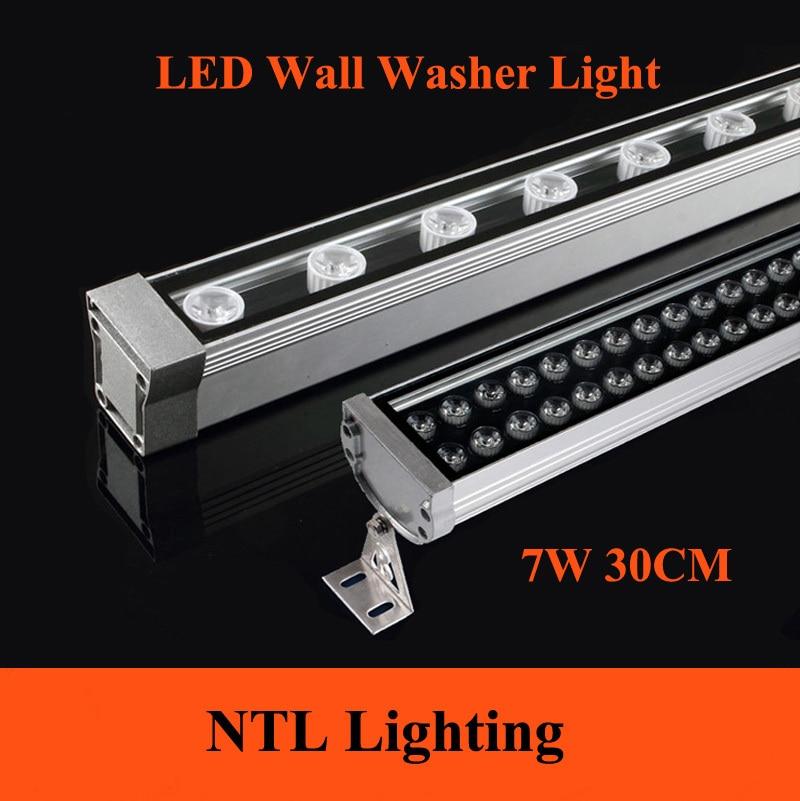 12v Led Outdoor Lights: New 0.3M 7W LED Wall Washer Landscape light AC 85V-265V 12V 24V outdoor,Lighting