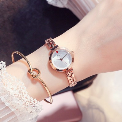 KIMIO Luxury Brand Watches Women Rose Gold Business Ladies Bracelet Clock Fashion Casual relogio femme Quartz Watch women 2017  2017 fashion brand kimio luxury quartz watch ladies watch women gold rhinestone bracelet waterproof watches with gift box