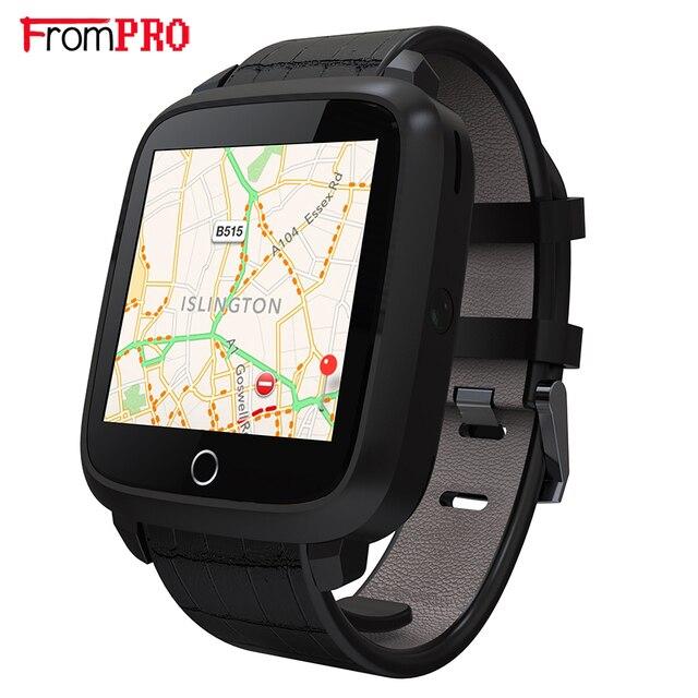 Новый Bluetooth 4.0 Смарт-часы U11S 1 г оперативной памяти 8 г Память rom MTK6580 Quad Core WIFI GPS Сердечного Ритма монитор Android 5.1 Смарт-часы