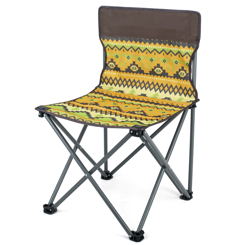 Outdoor Light Multifunction Folding Chair Fishing Stool Outdoor Painting Chair Portable Strong Leisure Camping And Beach Chair