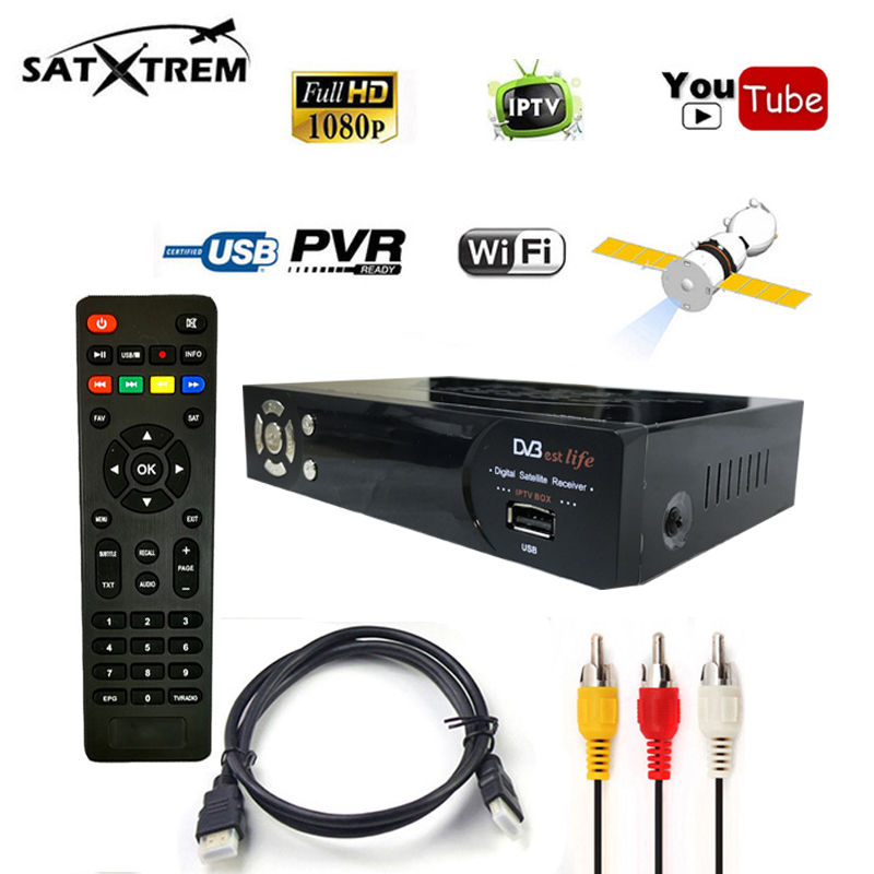 New IPS2 Plus iptv box DVB-S2 1080p hd satellite Decoder support 1 year BISS Key Powervu 1 year iptv europe France set top box best v8 golden receptor satellite dvb t2 s2 c satellite receiver 1 year europe cccam cline support powervu biss key via usb wifi