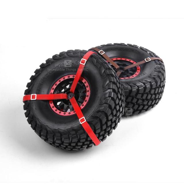 MJRC 1/7 TRAXXAS 85076-4 UNLIMITED DESERT RACER spare tire strap UDR RR10 90050 LOSI Baja Rey tire rope