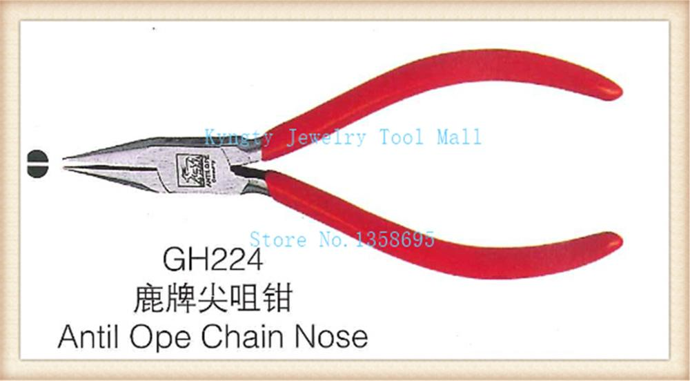 Beading & Jewellery Chain Nose Plier Wire Cutter Chain Making Craft Grip tool Anti open