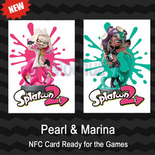NTAG215 Printed NFC Card Written by Tagmo Can Work For Switch Splatoon Pearl Marina