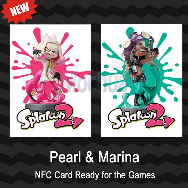 US $5 99 |NTAG215 Printed NFC Card Written by Tagmo Can Work For Switch  Splatoon Pearl Marina-in Access Control Cards from Security & Protection on