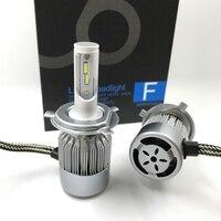 H4 Car Led Headlight H7 LED H1 H3 9005 72W 7600LM 12V Headlamp Replacement Kit Fog