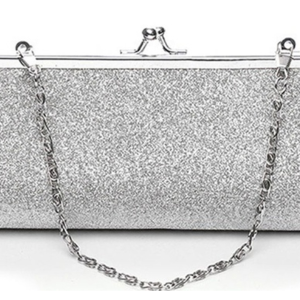 JHD Women Glitter Clutch Purse Evening Party Wedding Banquet Handbag  Shoulder Bag-in Clutches from Luggage   Bags on Aliexpress.com  859ae74914f0