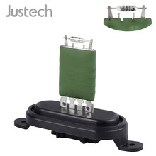 Justech Car Heater Blower Motor Fan Resistor 7E0959263C For VW T5 Transporter 12 V 4 Pins Heater Blower Resistor(China)