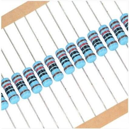 Resistores dos Pces Resistor do Filme do Metal Ohms 1% 200 120 1 w
