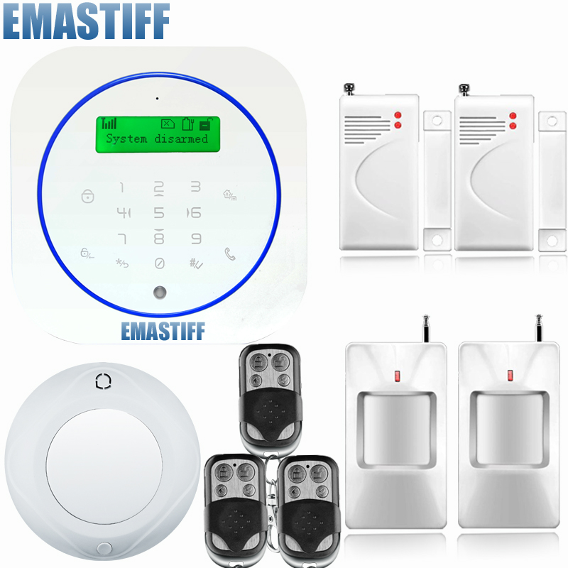 Android App control wireless gsm security system alarm home wireless magnetic window sensor+pir motion detector high quality hot sale 100db wireless alarm system burglar safely security window door home magnetic sensor best promotion
