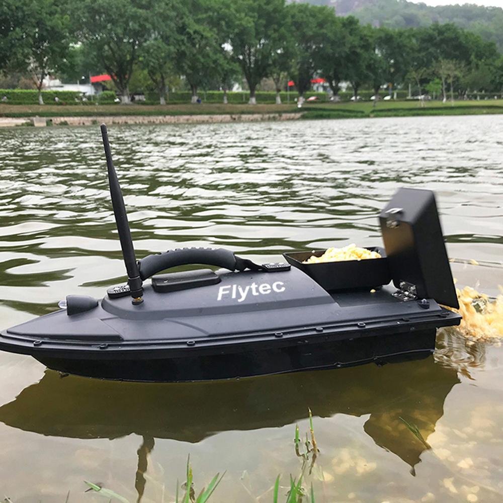 Flytec 2011 5 Vissen Tool Smart RC Aas Boot Speelgoed Dual Motor Fishfinder Schip Boot Afstandsbediening 500m Vissen Boten Speedboot
