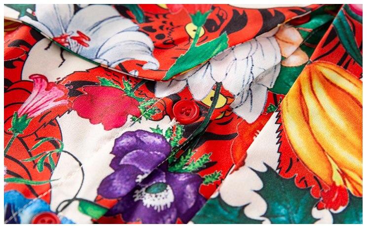 Plus Femmes Chemise Imprimé Manches Multi Collier Arc Longues Casual La 2018 Charme Qualité Haute Mode À Qyfcioufu Blouse De Taille Floral Top Tq8vZxI