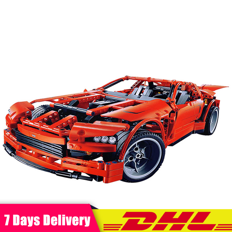 2018 LEPIN 20028 Technic Series Super Car Assembly Toy Car Model DIY Brick Building Blocks Toys Gifts Compatible LegoINGlys 8070 in stock lepin 20028 1281pcs technic series super car assembly toy car model diy brick building block toy gift for boy gift 8070