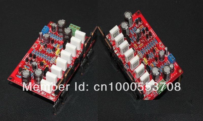 2 PC/lot L20 350 W Mono Amplificateur de Puissance Audio Conseil AMP Kit