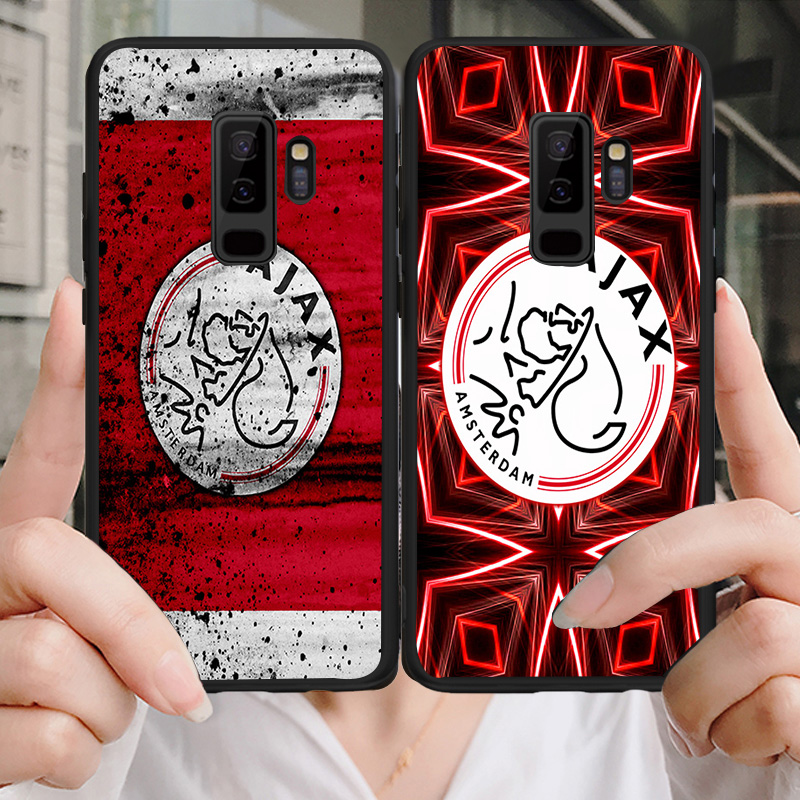 Yinuoda Phone Case For Ajax Samsung Galaxy S10 S9 8 Plus S6 S7 Edge Silicon Cover Ajax Team Black Soft TPU For S9 S10 Lite Case
