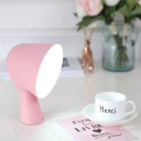 Fashion Table LED Light Bedroom Bedside Lamp Creative USB Charging Touch Eye Learning Lamp Living Room