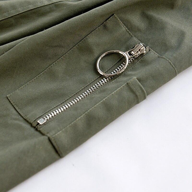 Zipper Applique V Longues Printemps Nouveau Manches Diamind Solide Occasionnels À Veste Col Beau Gros D'origine 2018 Femmes Marque En g1Bw0