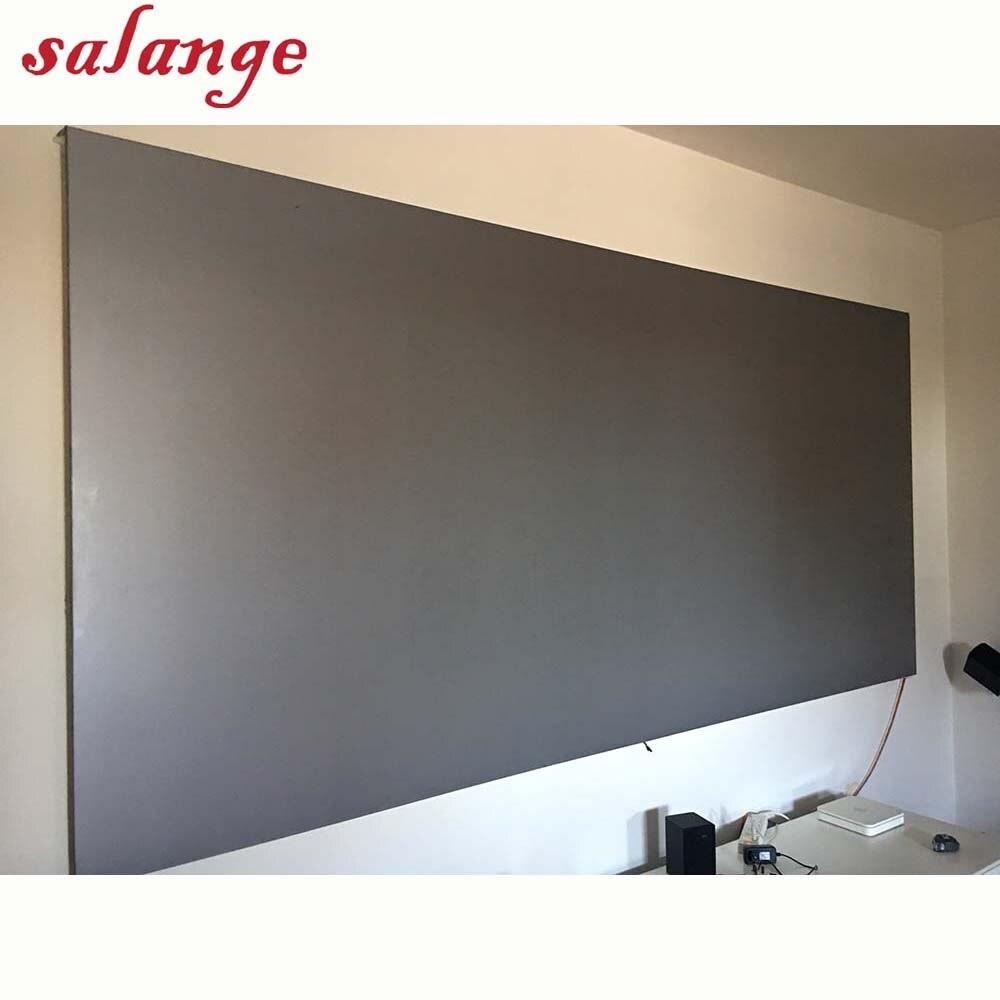 72 84 100 120 inch Silver Screen Reflective Fabric Projection Screen For XGIMI H1 H2 H1S Z6 Z4 Aurora JMGO J6S Projector Beamer