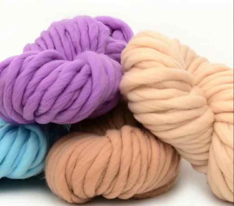 ZENGIA garn häkeln polyester arm strick themen/chunky großen garn für stricken merino/dicke wolle garn für decke garne