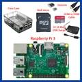 Com Caixa de Varejo Caso Starter Kit Completo Claro 16 GB com Noobs Edição Do Dissipador de Calor para Raspberry Pi 3