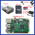 With Retail Box Complete Starter Kit Clear Case 16GB with Noobs Heatsink Edition for  Raspberry Pi 3