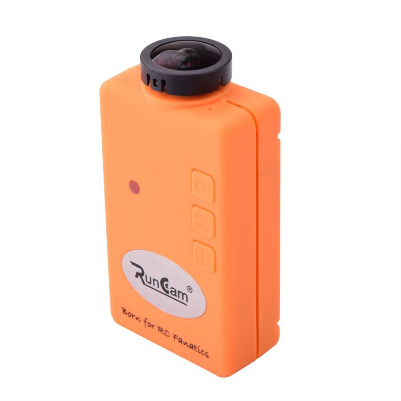 Orange Runcam FPV HD 1080P Wide Angle Mini Sport Action Camera for 250mm Frame Quadcopter