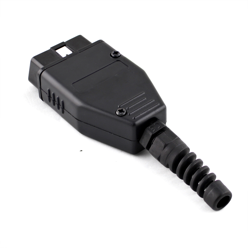 16Pin OBD2 Connector OBD 2 16 Pin OBD II Adaptor OBDII J1962 Connector Car Diagnostic Cable Male Plug Adapter