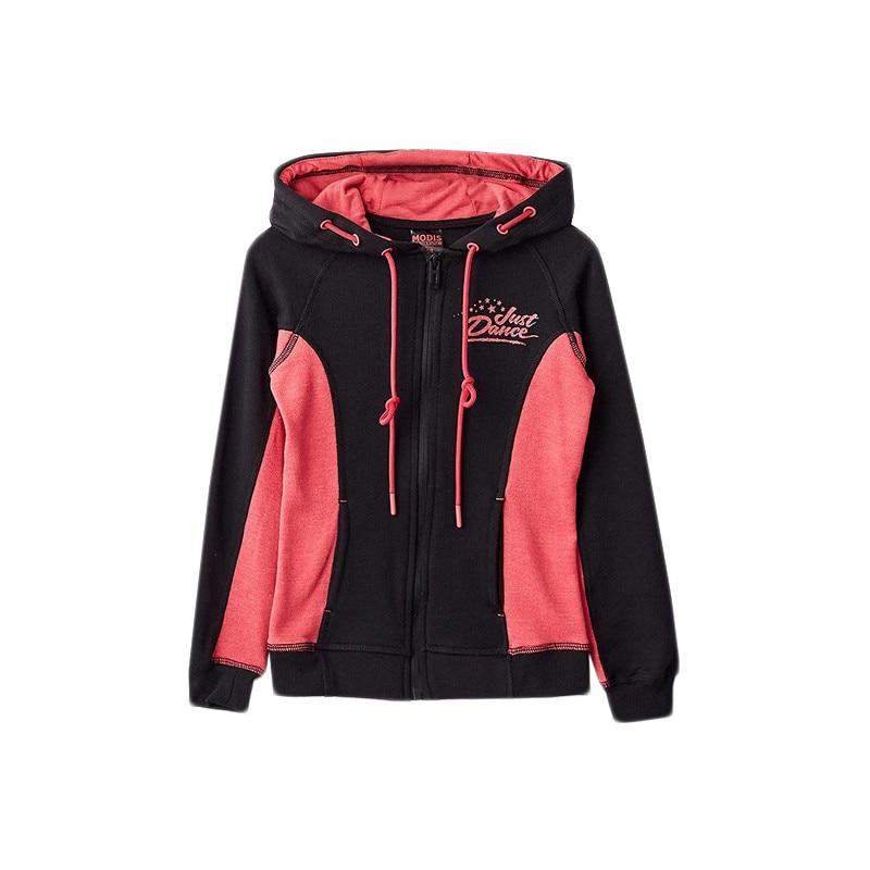 Hoodies & Sweatshirts MODIS M182S00047 for girls kids clothes children clothes TmallFS hoodies