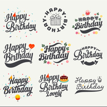 Happy birthday Letters Metal Die Cuts Cutting Dies For DIY Scrapbooking Photo Album Embossing Decorative Crafts Paper Cards
