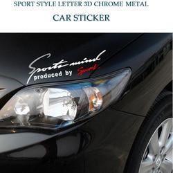 Car Sticker Emblem Badge Engine Hood Decal Auto Car Accessories For Ford Nissan Kia Audi BMW Benz VW Sport AMG