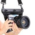 Tteoobl GQ-518M 20 M Câmera Subaquática de Mergulho À Prova D' Água Saco Caso Bolsa para NIkon Canon SLR Digital Camera 10*8 cm