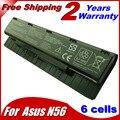 6 ячеек аккумулятор для ноутбука Asus A31-N56 A32-N56 A33-N56 N46 N56 N76 F55 N46V N76V B53V B53A F45A F45U 4400 мАч