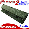 JIGU 6Cells Laptop Battery For Asus A31-N56 A32-N56 A33-N56 N46 N56 N76 F55 N46V N76V B53V B53A F45A F45U 4400MAH