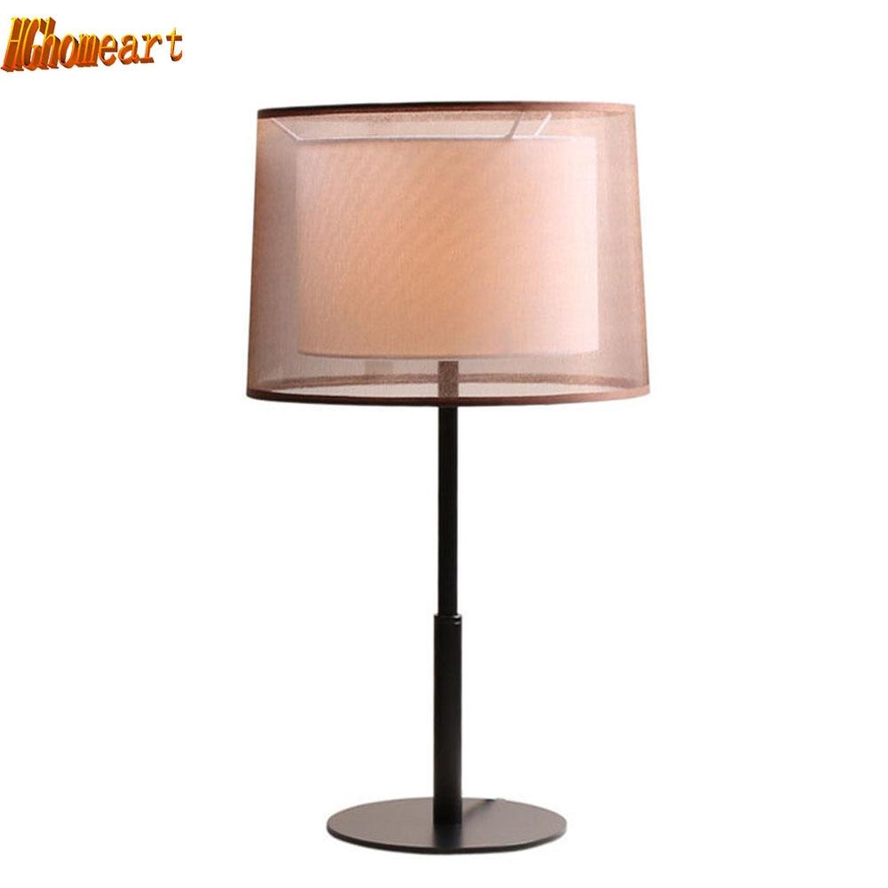 Modern Minimalist Fashion Desk Lamp Bedroom Bedside Lamp American Fashion Creative Living Room Restaurant Decorative Lighting