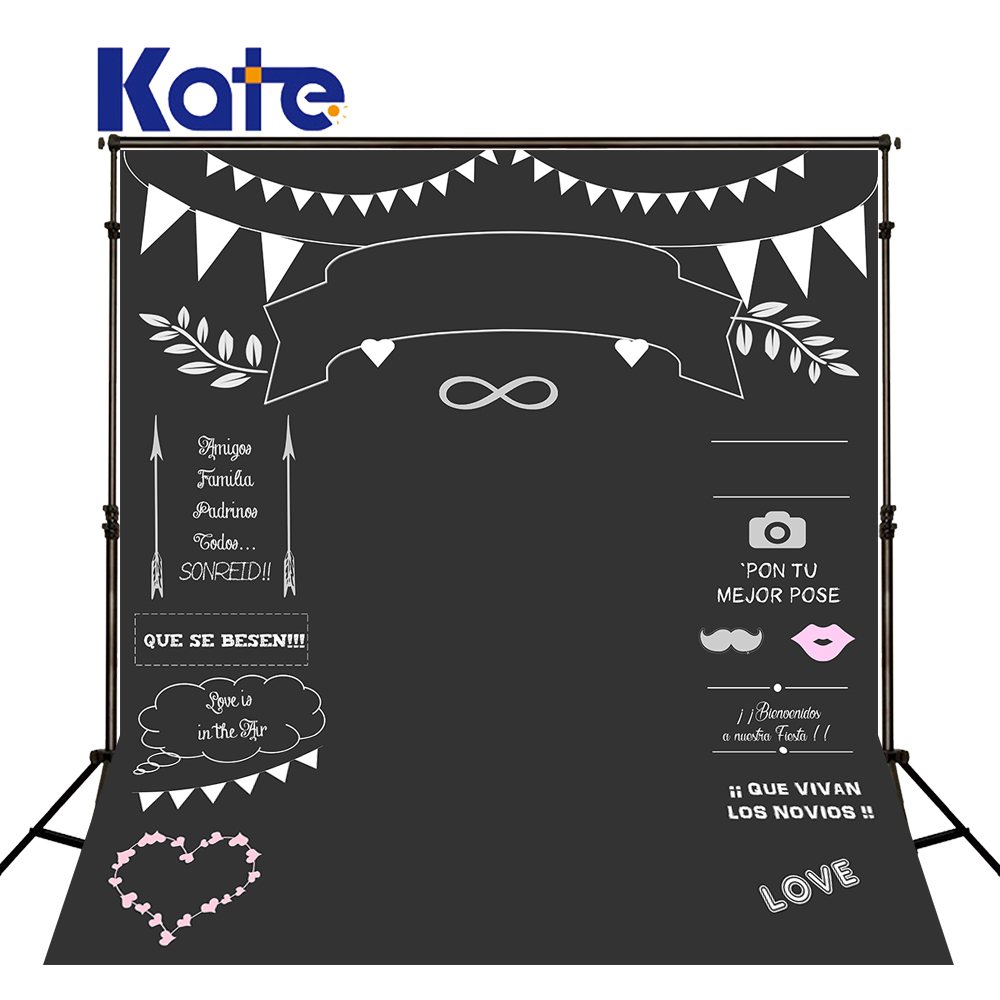 Kate Custom pulmade tahvli nimi Kuupäev Fotoklipp Fotograafia Pulmad - Kaamera ja foto - Foto 1