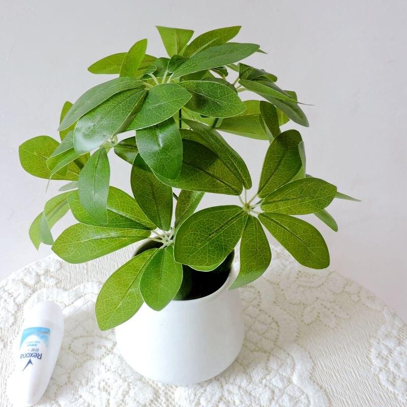 Photos real touch 60cm vert-jaune en pot d art plantes artificielle plantes